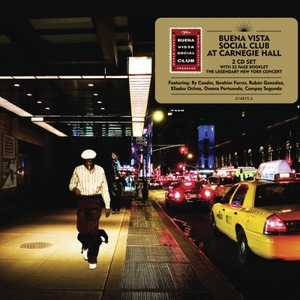 Buena Vista Social Club At Carnegie Hall album cover
