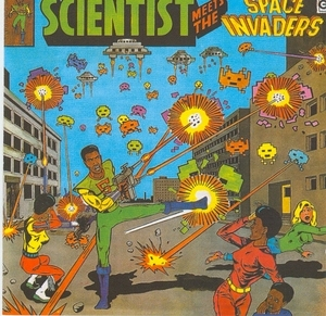 Scientist Meets The Space Invaders album cover