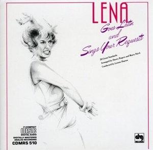 Lena Goes Latin album cover