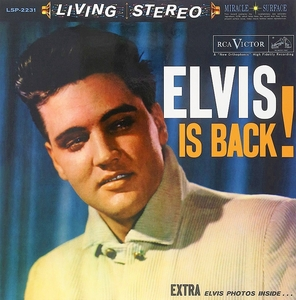 Elvis Is Back! album cover