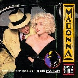 Dick Tracy-I'm Breathless album cover
