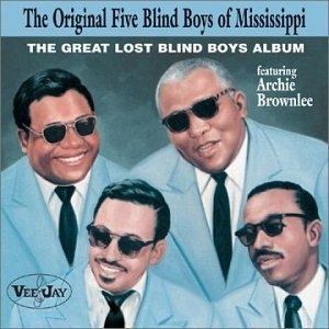 The Great Lost Blind Boys Album album cover