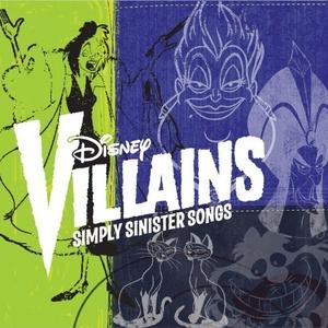 Disney Villains: Simply Sinister Songs album cover