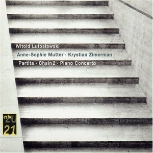 Lutoslawski: Partita, Chain 2, Piano Concerto album cover