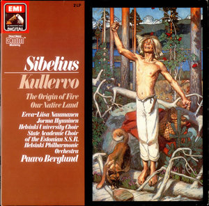 Sibelius: Kullervo Symphony album cover