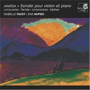 Janacek: Sonate Pour Violon Et Piano album cover