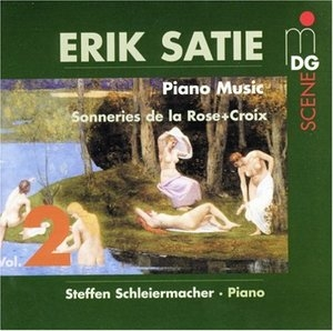 Satie: Piano Music Vol.2 album cover