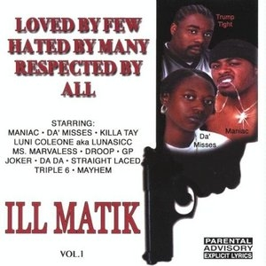 Ill Matik Vol.1 album cover