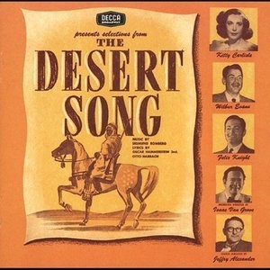 The Desert Song-The New Moon (1953 Original Cast) album cover