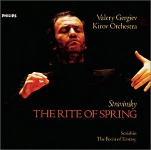 Stravinsky: Rite Of Spring~ Scriabin: Poem Of Ecstasy album cover