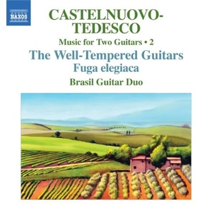Castelnuovo-Tedesco: Music For Two Guitars, Vol. 2 album cover