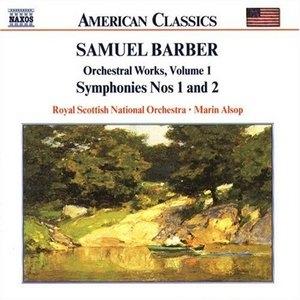Barber: Orchestral Works Vol.1 album cover