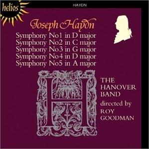 Haydn: Symphonies 1-5 album cover