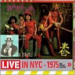 Live In NYC 1975-Red Patent Leather album cover