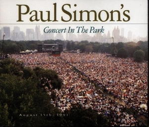 Paul Simon's Concert In The Park album cover