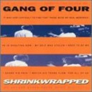 Shrinkwrapped album cover
