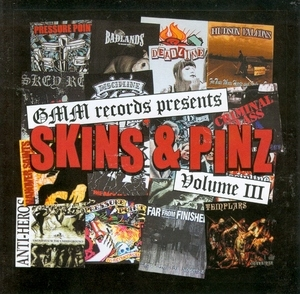 Skins And Pinz, Vol. 3 album cover