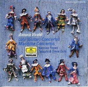 Vivaldi: Lute, Mandolin Concertos album cover