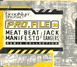 Pro.File Vol. 1: Jack Dangers Remix Collection album cover