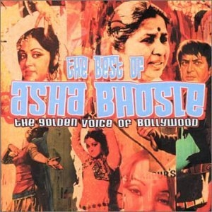 The Best Of Asha Bhosle: The Golden Voice Of Bollywood album cover