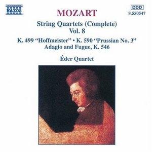 Mozart: Complete String Quartets Vol.8 album cover