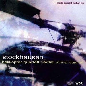 Stockhausen: Helikopter-Quartett album cover