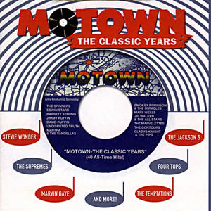 Motown: The Classic Years album cover