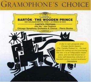 Bartok: The Wooden Prince, Cantata Profana album cover