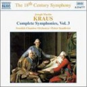Kraus: Complete Symphonies Vol.3 album cover