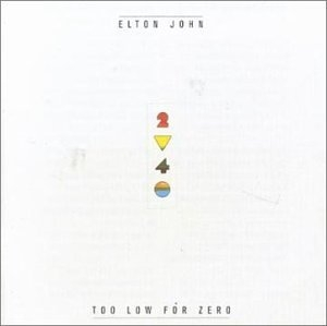 Too Low For Zero album cover