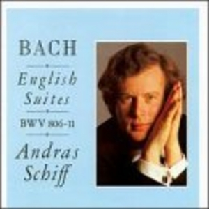 Bach: English Suites BWV 806-811 album cover