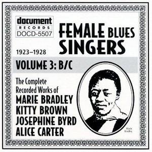 Female Blues Singers Vol.3 B&C (1923-1928) album cover