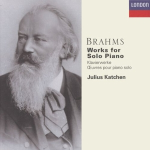 Brahms: Works For Solo Piano album cover