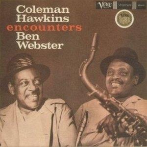 Coleman Hawkins Encounters Ben Webster album cover