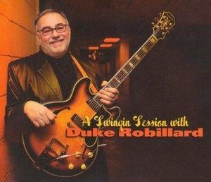 A Swingin Session With Duke Robillard album cover