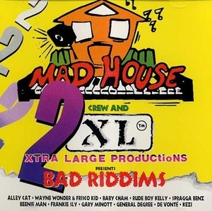 2 Bad Riddims album cover