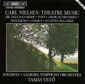 Nielsen: Theatre Music album cover
