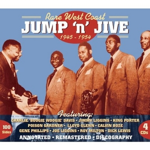 Rare West Coast Jump 'N' Jive: 1945-1954 album cover