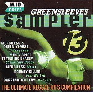 Greensleeves Sampler 13 album cover
