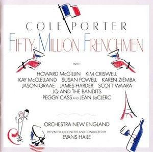 Fifty Million Frenchmen (1991 Studio Cast)  album cover