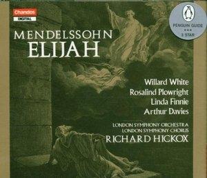 Mendelssohn: Elijah album cover