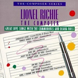 Lionel Richie The Composer: Great Love Songs With The Commodores & Diana Ross album cover