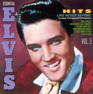 Essential Elvis Vol.3-Hits Like Never Before album cover