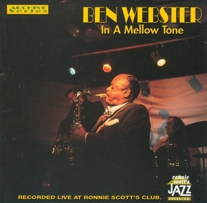 In A Mellow Tone (Live) album cover