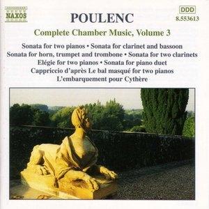 Poulenc: Complete Chamber Music, Vol.3 album cover