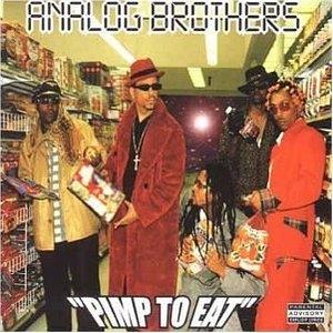 Pimp To Eat album cover