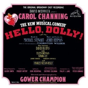 Hello Dolly: The Original Broadway Cast Recording (1964) album cover