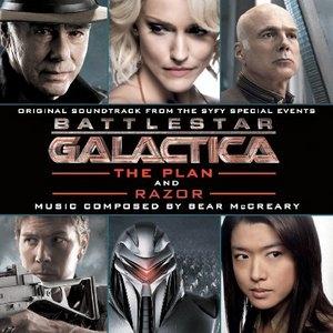 Battlestar Galactica: The Plan And Razor album cover