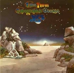 Tales From Topographic Oceans album cover