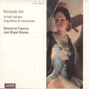 Fernando Sor-Ariette Italiane Seguidillas And Variaciones album cover